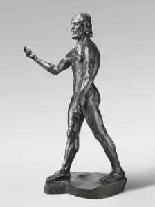 """Auguste Rodin's """"St. John the Baptist Preaching"""""""
