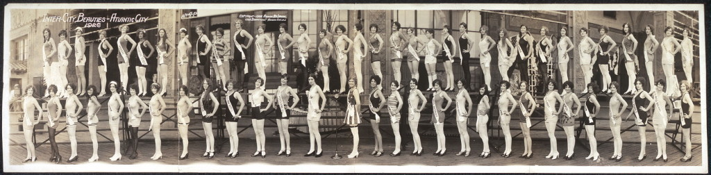 Inter-city beauties, Atlantic City, 1926