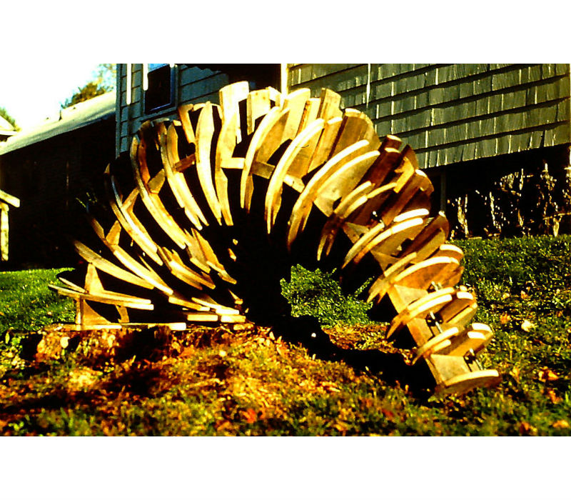 Freight pallet carvings