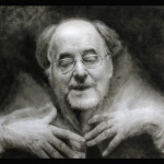 "Michael Fennel's ""Portrait of Sir Roger Norrington Conductor"""