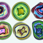 Jeanette Nyberg's melted cups