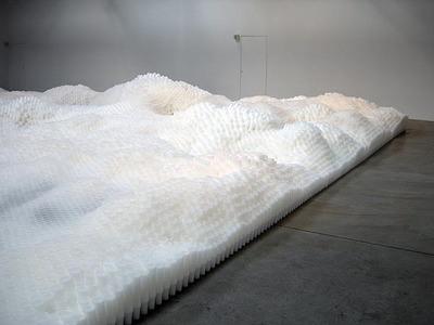 Tara Donovan's Untitled Plastic Cup Installation