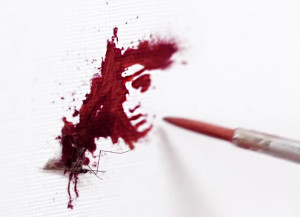 Blood Portraits by Glorix 2