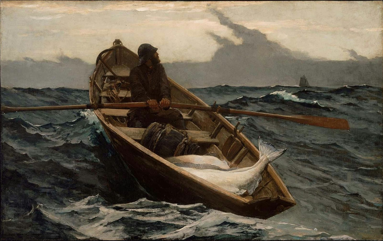 Winslow Homer's The Fog Warning