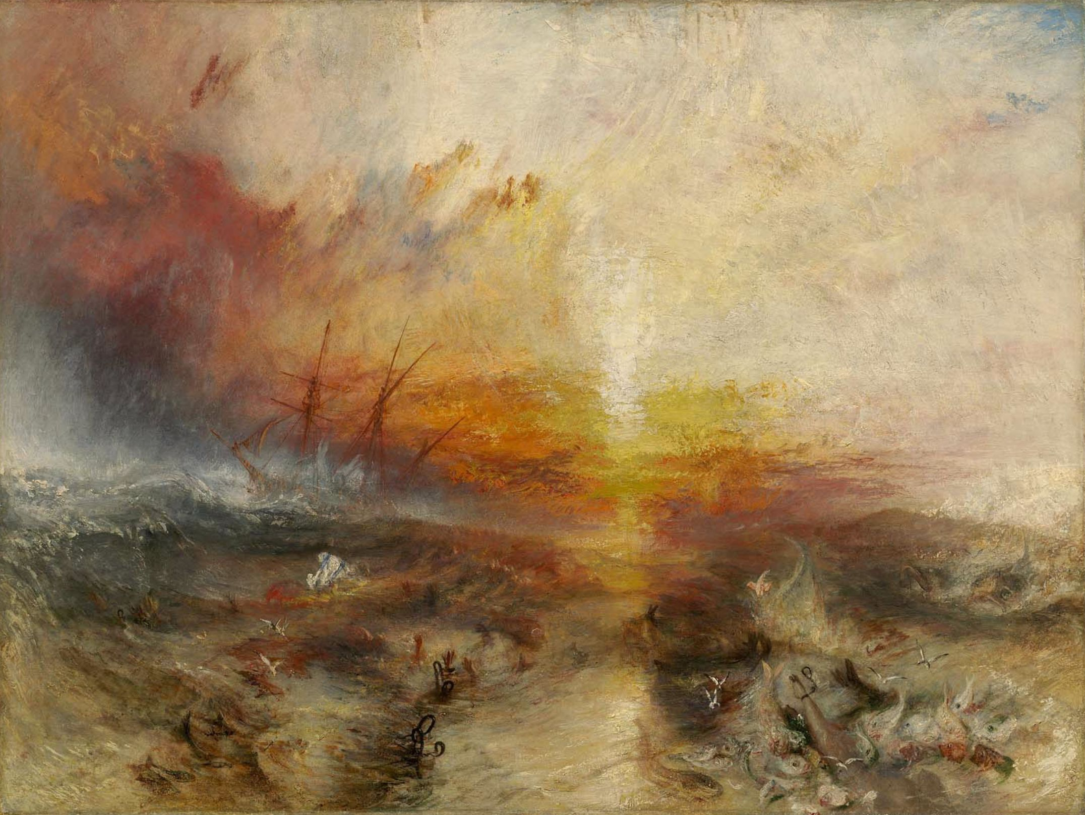 J.M.W. Turner's The Slave Ship