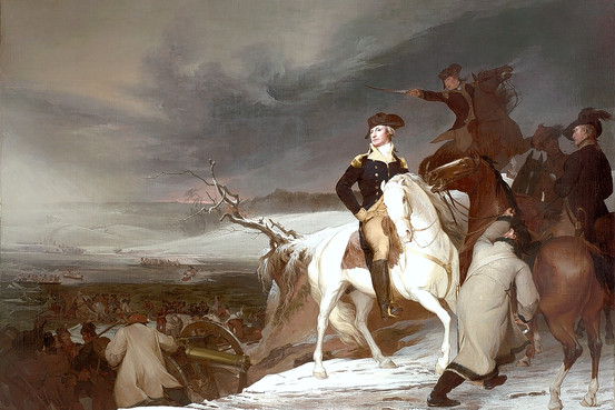 Thomas Sully's Passage of the Delaware