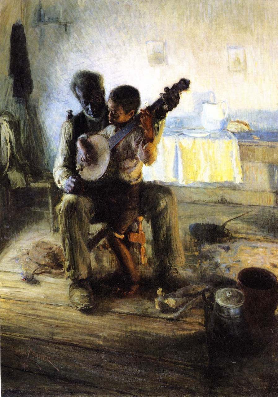 Henry Ossawa Tanner's The Banjo Lesson (1893)