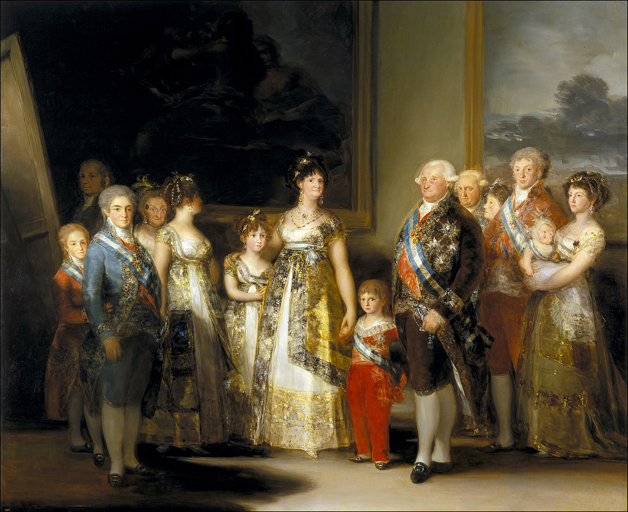 Goyas Charles IV of Spain and His Family