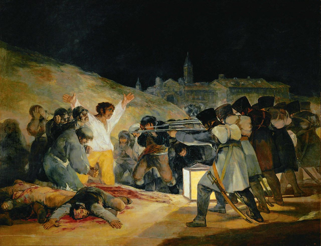 Goya's The Third of May, 1808 (1814)