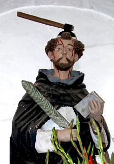 Peter of Verona Martyr in Oaxaca