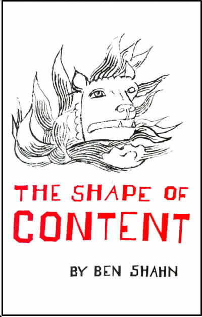 Shape of Content cover f