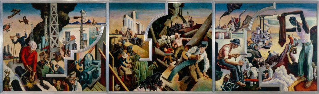 Thomas Hart Benton's 'America Today'