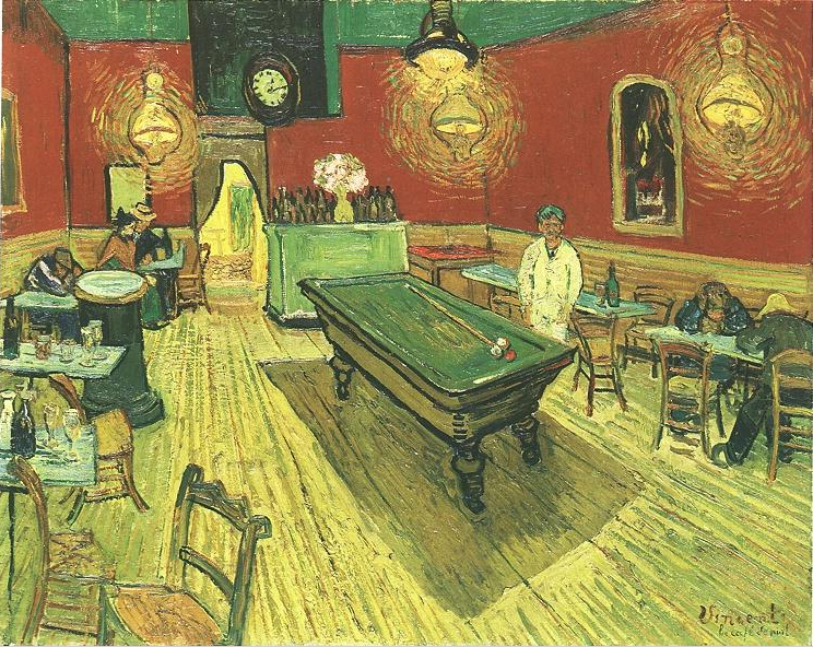 VanGogh.The Night Cafe. 1888.