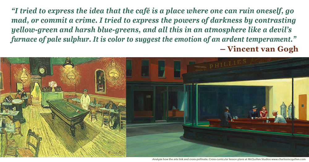 Edward.Hopper.Nighthawks.and.Vincent.Van.Gogh.Night.Cafe.s