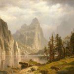 Albert Bierstadt - Merced River, Yosemite Valley.1866.m